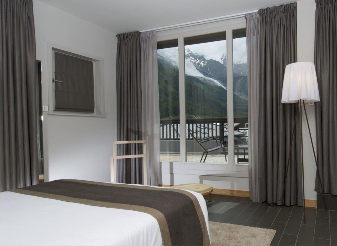 D veloppement durable montagne hotel ecologique chamonix for Chambre neuf hotel chamonix