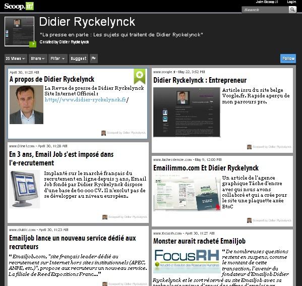didier ryckelynck - ryckelynck site officiel