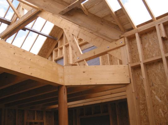 Construction maison bois salon maisons bois construire for Salon construction bois