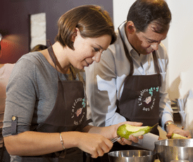 Cours de cuisine stage culinaire formation cuisine for Atelier cours de cuisine paris