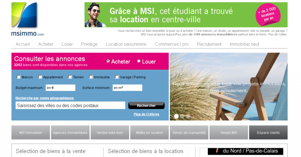 Agence immobiliere le touquet immobilier valenciennes for Tout les agence immobiliere