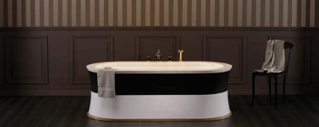 Sanitaires luxe salle de bain prestige robinetterie luxe for Accessoires salle de bain de luxe