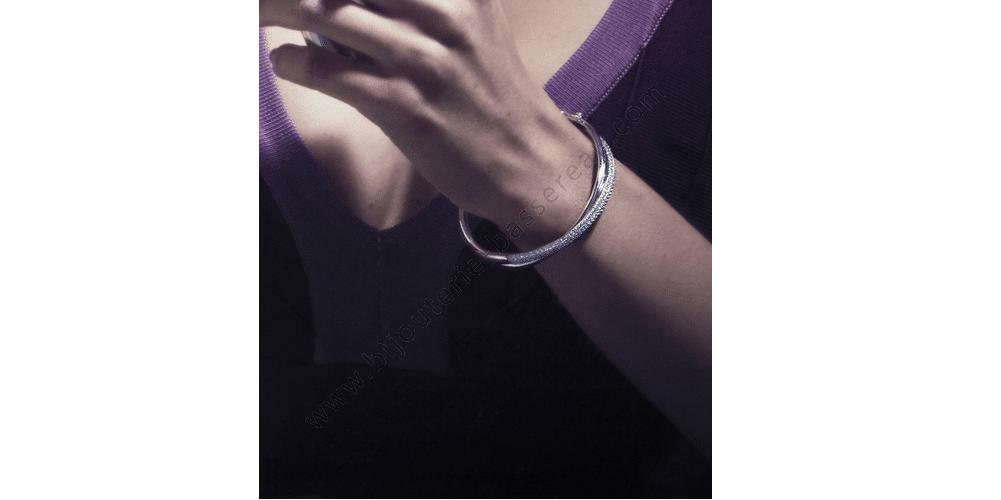 Bracelet en argent Naiomy