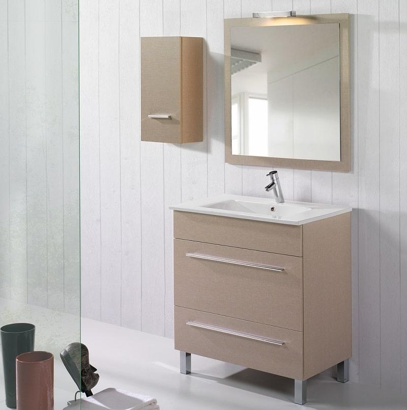 Robinet co cran douche paroi douche for Pied meuble de salle de bain