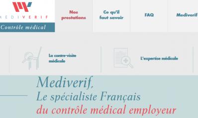 Mediverif, spécialiste français de la contre-visite médicale