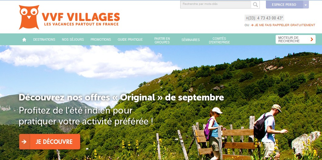 VVF Villages : le plaisir de passer des vacances en France en famille !