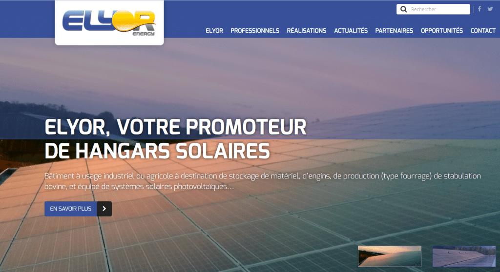installateur de solutions pour la production d'énergie solaire