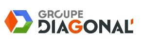 logo groupe diagonal