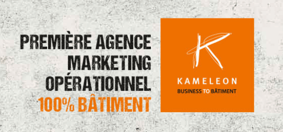 Kaméléon agence de marketing bâtiment