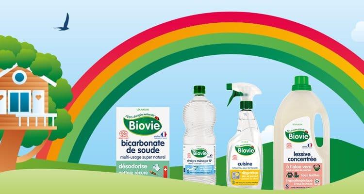 Produits d'entretien pour la maison de la marque Biovie