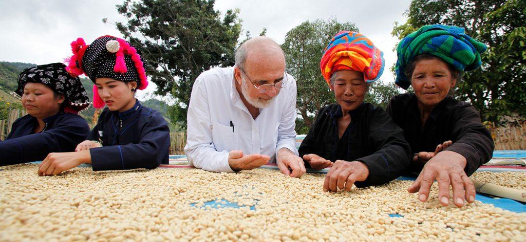 Producteurs de cafe equitable